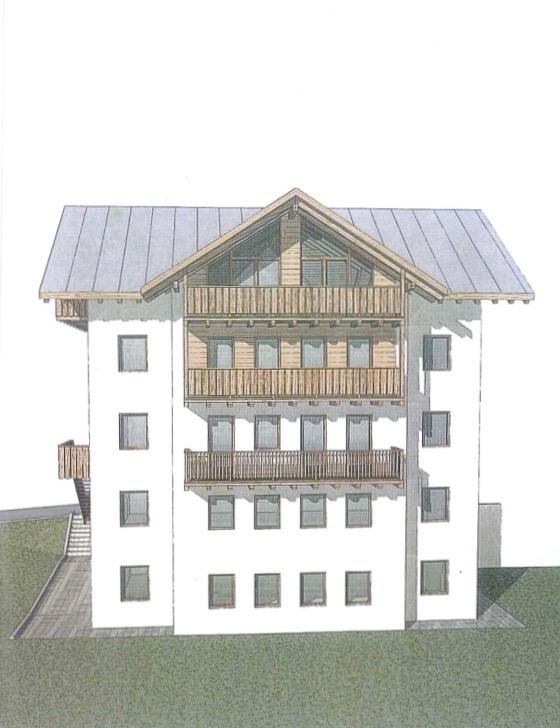 Appartamento nuovo in duplex san vito di cadore for Piani duplex con garage in mezzo